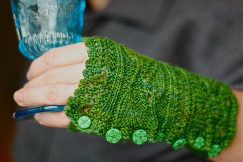 Katinka Green Buttons
