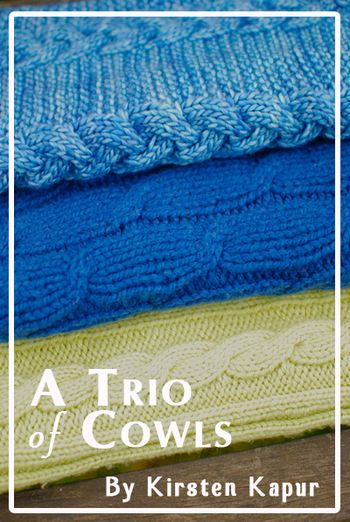 Trio of Cowls Cover