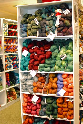 Yarn at the Loopy Ewe