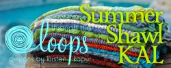 Summer Shawl KAL Button