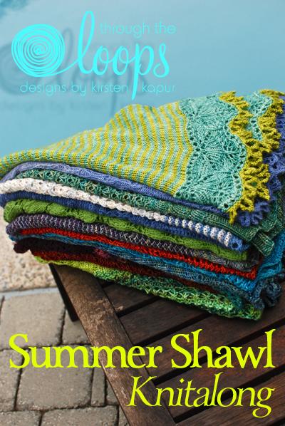 Summer Shawl KAL Vertical