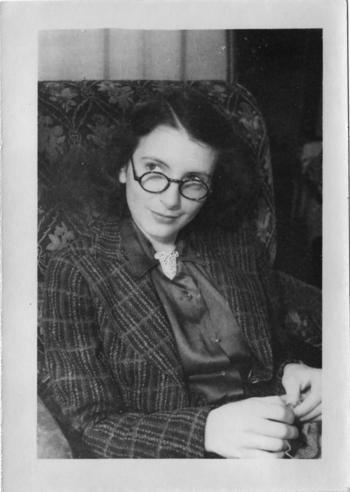 Dorothy Knitting
