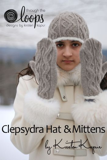Clepsydra Hat & Mittens cover