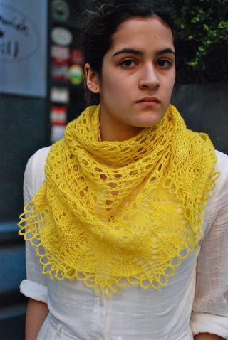 Yellow Shawl 2
