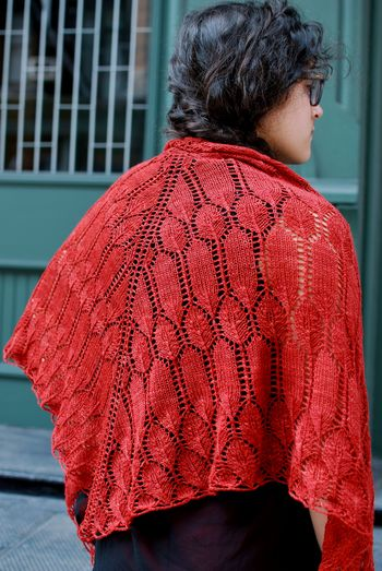 Verb Shawl 1
