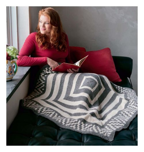 Fair Isle Style - Hap-Lapghan beauty shot