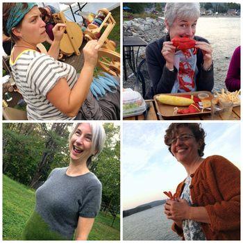 Fiber College Collage People
