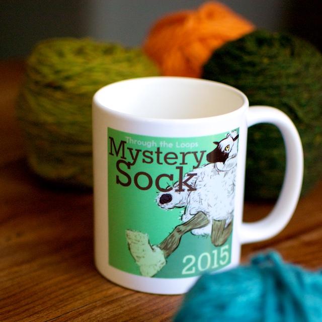 Mystery Sock Mug
