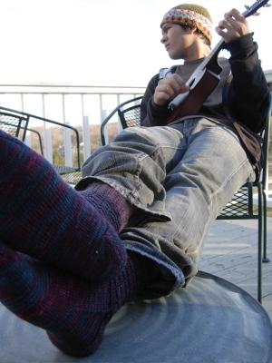 Uke_and_socks