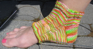 Nasturtium_sock_1